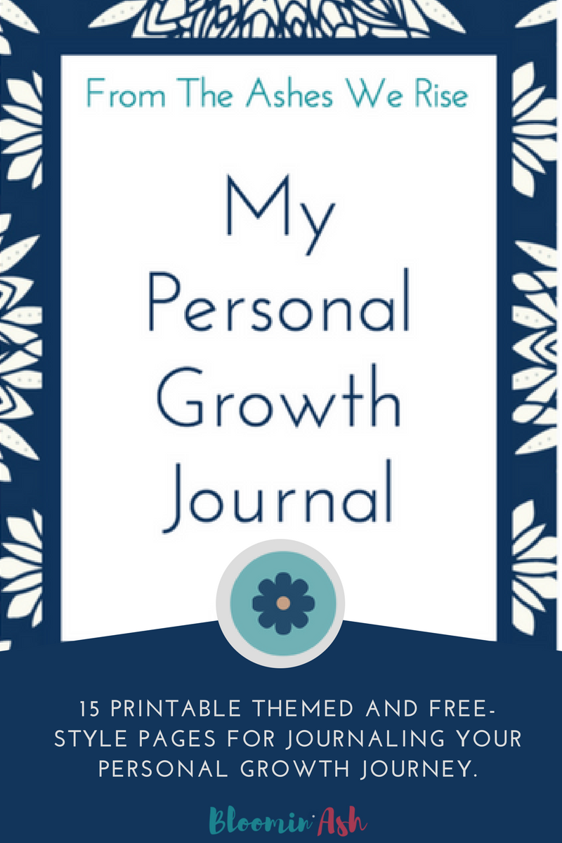 personal growth journal printable