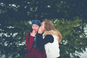 getting sober stigma friends whispering