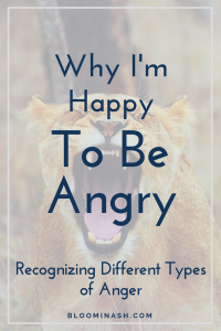 happy to be angry in recovery