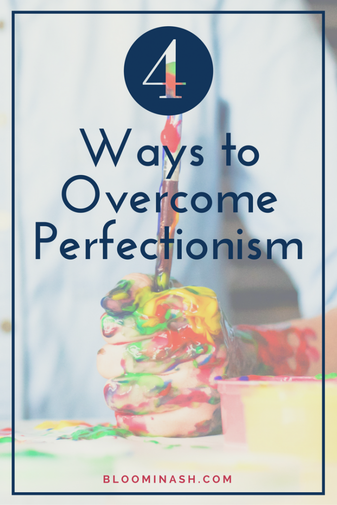 Perfectionism often looks like chaos and disorder. It's the exact opposite of what we strive to achieve.