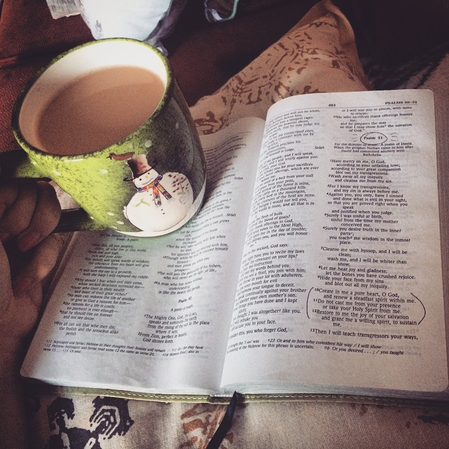 early sobriety reading bible craving drinking coffee