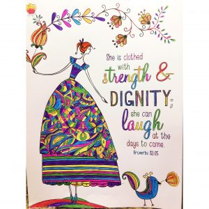 she is clothed with strength and dignity she can laugh at the days to come proverbs 31 woman recovery sobriety regrets