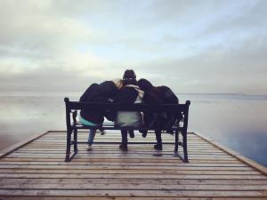 friends support hugging divorce custody battle documentation helps tips