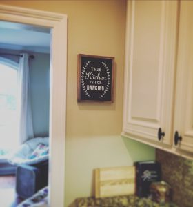 this kitchen is for dancing looking for gratitude in small things sobriety recovery blog