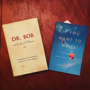 dr bob and the good oldtimers if you want to write recovery sobriety social media break