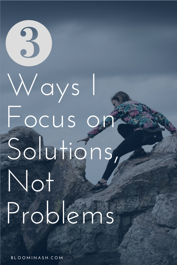 One of the reasons I'm still sober is that I stubbornly clutch at solutions rather than excuses.