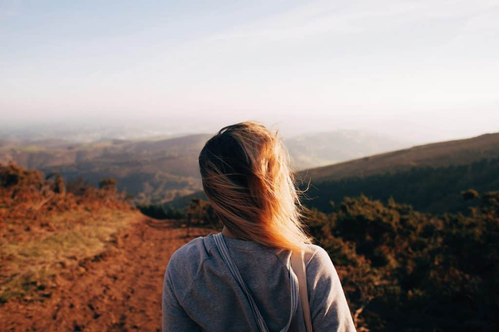 things you need to know about life - woman looking at mountains