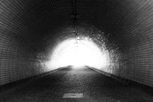 bloominash light end of tunnel